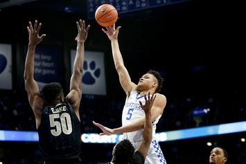 """Knicks' Kevin Knox Earns Rave Reviews Around NBA: """"He's F--king Really Good"""""""