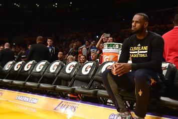 LeBron James Officially Signs With The Lakers