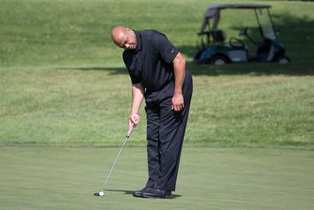 Charles Barkley A 6,000-1 Long Shot To WIn Celebrity Golf Tournament