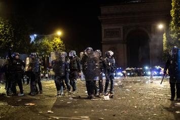 Riot Police Called To Nike Store In France After Word Cup Victory