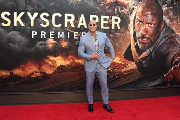 """Dwayne Johnson Thanks Fans For Going To See """"Skyscraper"""" On Twitter"""