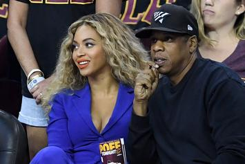Beyonce & Jay Z Link With Bono For A Serenaded Dinner In France