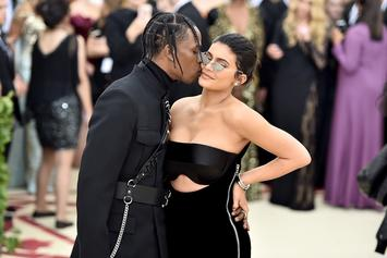 Travis Scott & Kylie Jenner Step Out For Date Night In New York