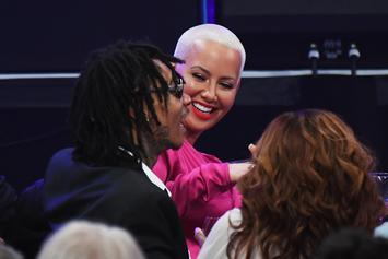 Wiz Khalifa & Amber Rose Are Proud Parents: Their Son Sebastian Hits The Stage