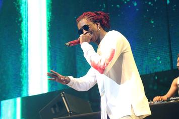 """Young Thug Reveals """"Slime Language"""" Tracklist With An Actual Snake"""
