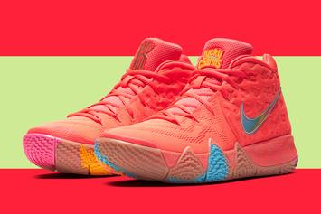 "Nike Kyrie 4 ""Cereal Pack"" Releasing Via Mobile Trucks This Week"