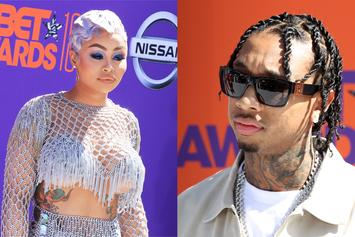 Tyga & Blac Chyna Reunite For Date Night In NYC: Fine Dining & Clubbing