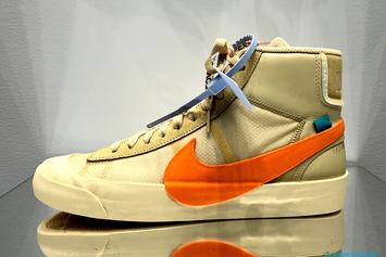 "Off-White x Nike Blazer Mid ""All Hallows Eve"" & ""Grim Reaper"" Revealed"