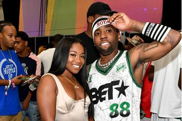 YFN Lucci and Reginae Carter Host Back To School Field Day In Atlanta