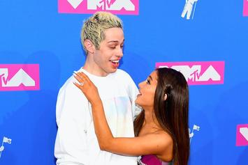 "Ariana Grande Calls Out Article Mocking Pete Davidson's ""Butthole Eyes"""