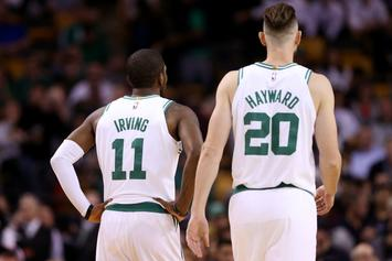 "Gordon Hayward, Kyrie Irving Will Be ""Full Speed"" At Camp: Report"