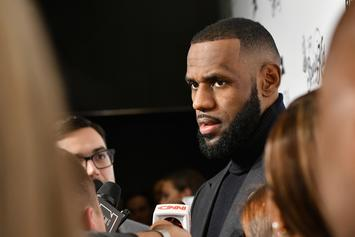 "LeBron James On His Upbringing: ""I Ain't F*cking With No White People"""