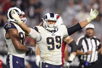 Rams' Aaron Donald Becomes Highest-Paid Defensive Player In NFL History