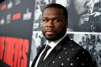 "50 Cent Reacts To Mural Painting Of Himself As Tekashi 6ix9ine: ""What The F*ck"""