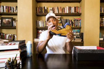 "Will Smith Unboxes Exclusive ""Fresh Prince"" Air Jordan 5"
