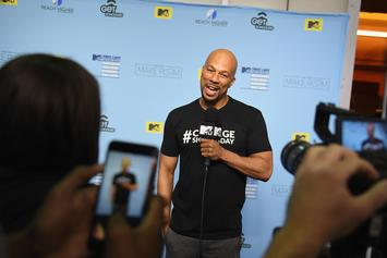 """Common Joins Michelle Obama's Voter Campaign As A Full-Fledged """"Blue"""" Recruiter"""