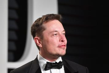 Elon Musk Smokes A Joint On Joe Rogan's Podcast And Tesla Shares Drop