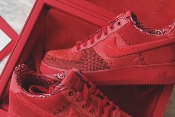Odell Beckham Jr. x Nike Air Force 1 Low Limited To Just 100 Pairs