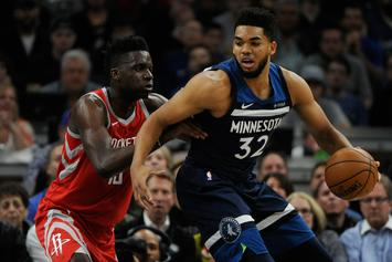 Karl-Anthony Towns Agrees To $190M Max Deal With Timberwolves: Report