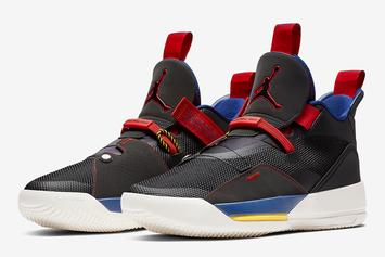 "Air Jordan 33 ""Tech Pack"" To Release Next Month"