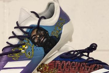 Vikings' Stefon Diggs Receives Custom Snoop Dogg Cleats For Tonight's Game