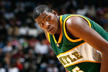 Kevin Durant Pays Tribute To Shawn Kemp In NBA Preseason Return To Seattle
