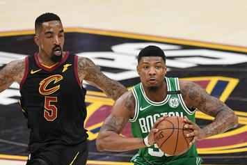 "Marcus Smart Challenges JR Smith To A Fight: ""Ain't No Punk Right Here"""
