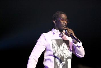 "Young Thug Shares Dejected Thoughts: ""At War With Depression"""