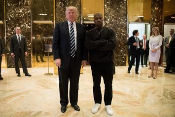 """Donald Trump On Kanye West: """"He's Really A Great Guy"""""""