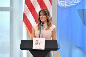 "Melania Trump Says She's ""The Most Bullied Person In The World"""