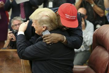 Kanye West Goes On Lengthy Rant During Meeting With Donald Trump