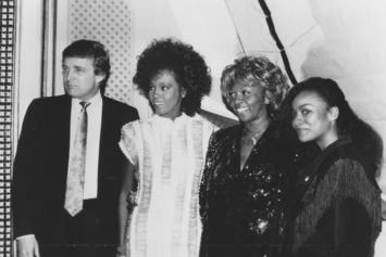 Donald Trump & Whitney Houston Were Actually Buds