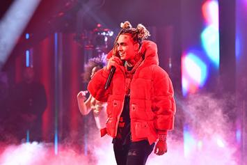 """Lil Pump Urinates On Stacks Of Cash Because He Got """"Bored"""""""