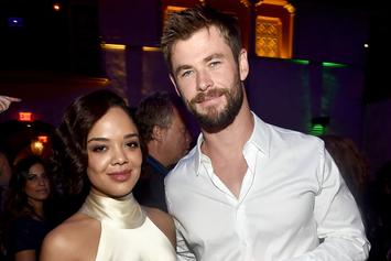 """Men In Black"" Reboot: Tessa Thompson Shares New Photo With Chris Hemsworth"