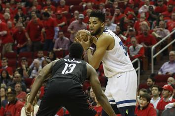 Karl-Anthony Towns Weighs In On The 'Wolves Broken Locker Room