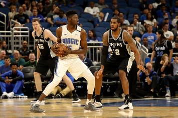 Orlando Magic Rookie Mo Bamba Signs Sneaker Deal With Under Armour