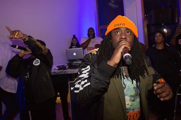 """Wale's 2011 Cut """"Lotus Flower Bomb"""" Reportedly About Solange"""