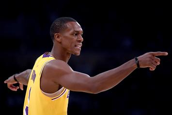 "Lakers Reviewed Tape, Will Back Rajon Rondo's Testimony ""He Didn't Spit"""