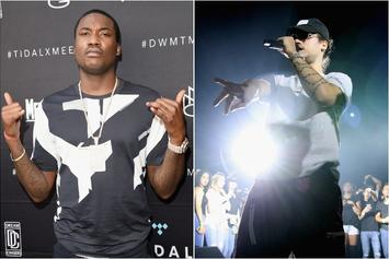 "Meek Mill & Russ Bonded After A ""Lightweight Argument"""