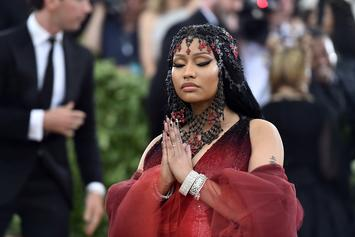 "Nicki Minaj On Fan's Comment About Suing Cardi B And Her Sister: ""To God Be The Glory"""