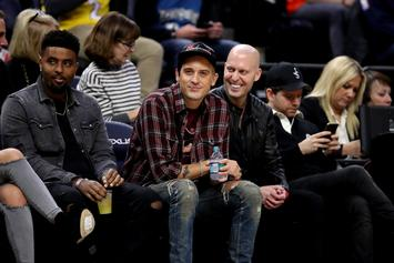 G-Eazy Gets Handsy With Model Caroline Lowe At Lakers Game