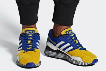 "Dragon Ball Z x Adidas Ultra Tech ""Vegeta"" Coming Soon: New Images"