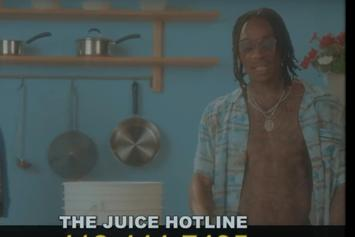 """Wiz Khalifa Fights The Urge In """"Late Night Messages"""" Video"""