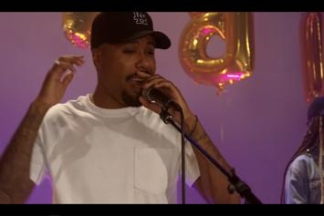 "Dom Kennedy & Ray Wright Perform Their Anthem In ""Christopher Columbus"""
