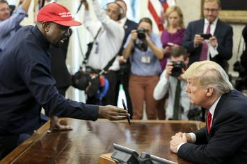 "Kanye West Only Supports Donald Trump When ""Album's Coming Out"" Says Macy Gray"