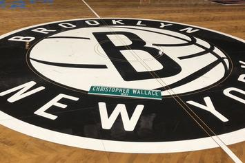 """Brooklyn Nets Debut Biggie-Inspired """"City Edition"""" Home Court"""