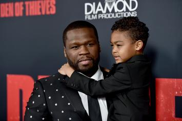 "50 Cent Spars With Youngest Son: ""He Want Smoke With Me Already"""