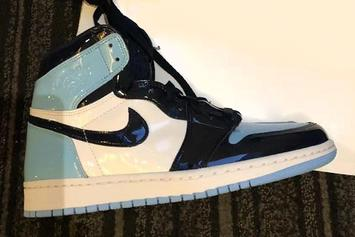 """Patent Leather """"UNC"""" Air Jordan 1 To Release Around All-Star Weekend"""