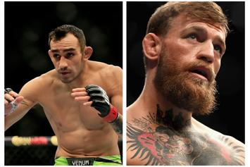 "Tony Ferguson Thinks He Can ""Break"" Conor McGregor: ""In A Cage Or Boxing Match"""