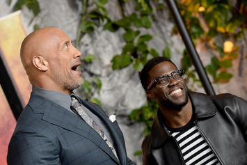 """Dwayne """"The Rock"""" Johnson On How Kevin Hart Would """"Pee Himself"""" On New Show"""